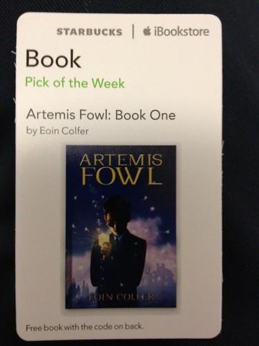 Starbucks iTunes Pick of the Week - Artemis Fowl: Book One