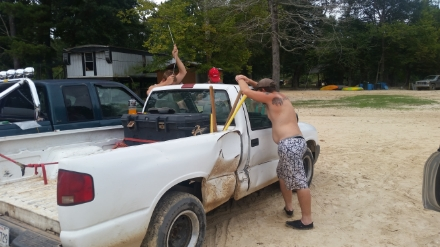 Redneck Break-in
