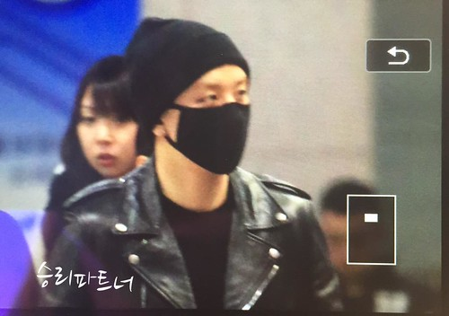 Big Bang - Incheon Airport - 10apr2015 - Seung Ri - Partnervi - 02