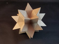 Cardboard Rhombic Hexecontahedron