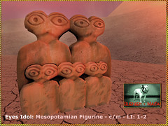 Bliensen - Eyes Idol - Mesopotamian Figurine