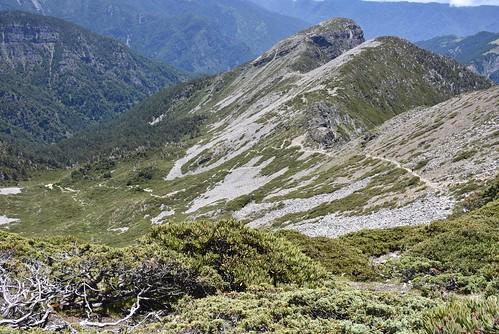 雪山雪東線-圈谷