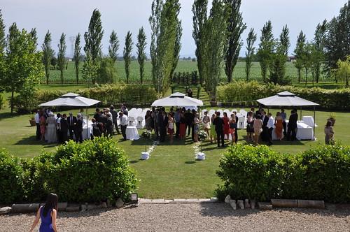 The garden at Palazzo Del Vignola