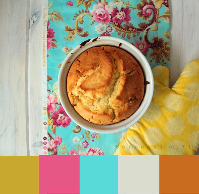 Orange Cake palette