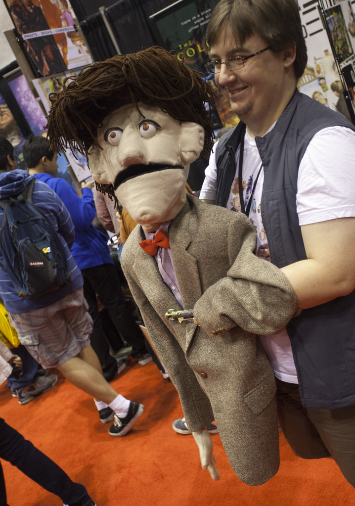 Dr. Who Puppeteer