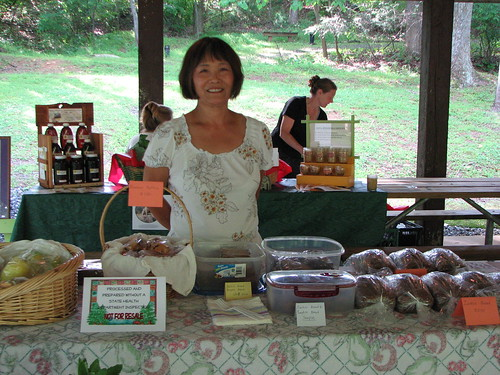 Produce & Baked Goods Pakssi Foley at Fairy Stone State Park