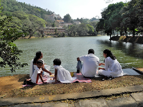 Picnic on Lake Kandy  (by Queenie)