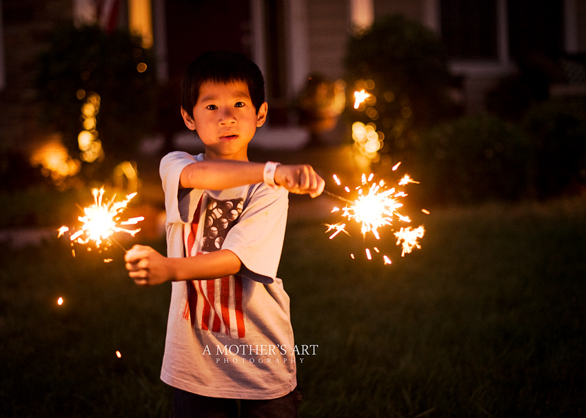 July 4th sparklers 3