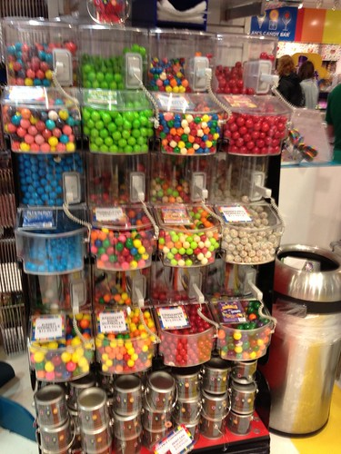 Wall of gumballs #1