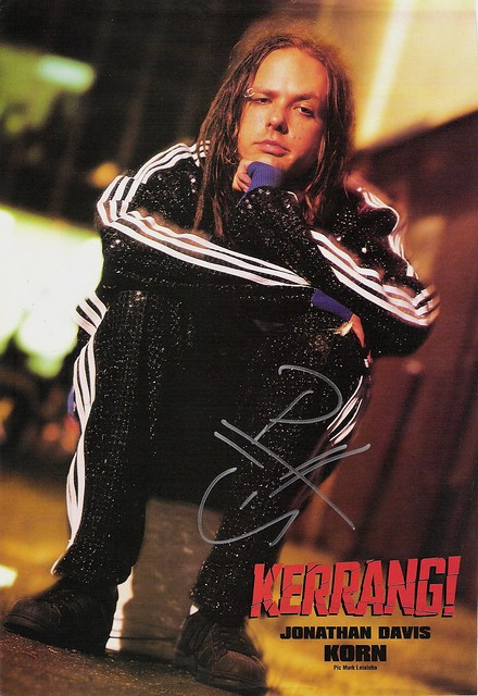 Signed Kerrang! poster