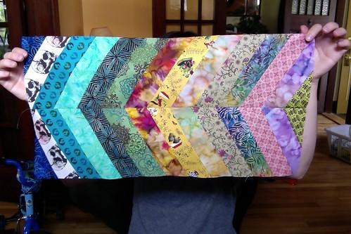 Elinor's quilt block