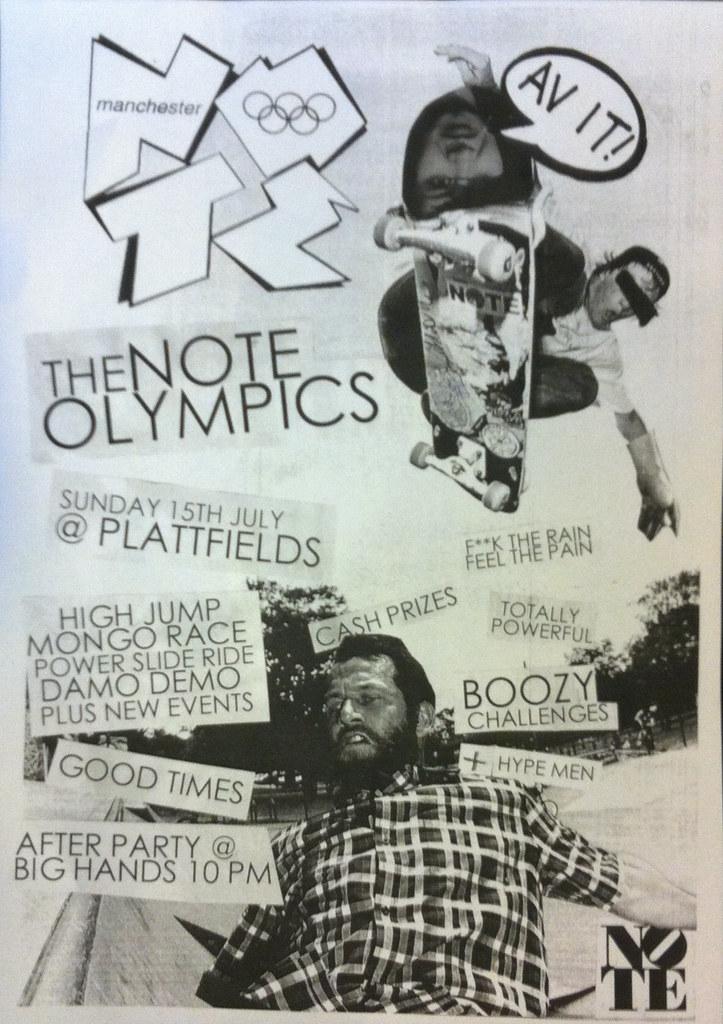 NOTE Olympics 2012.
