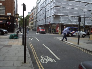 Whitfield St at Goodge St