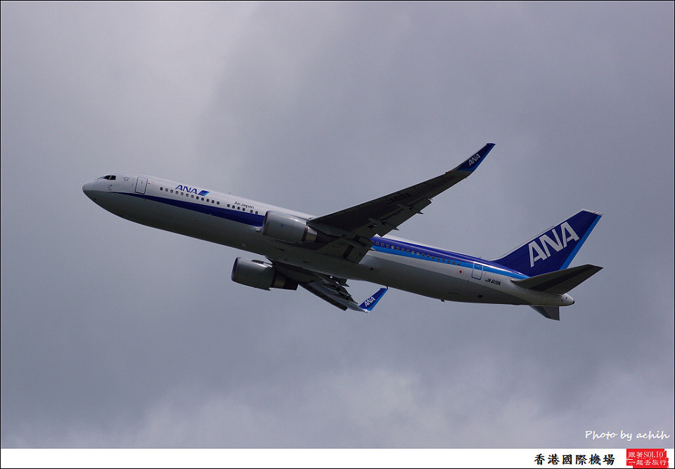 All Nippon Airways - ANA / JA619A / Hong Kong International Airport