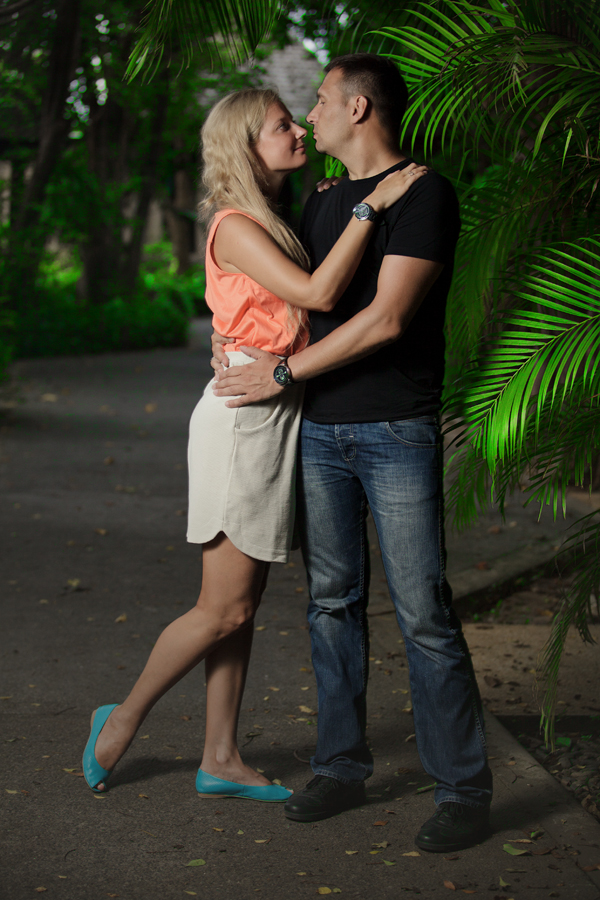Выездная фотосессия, фотосессия пары, лавстори Тайланд
