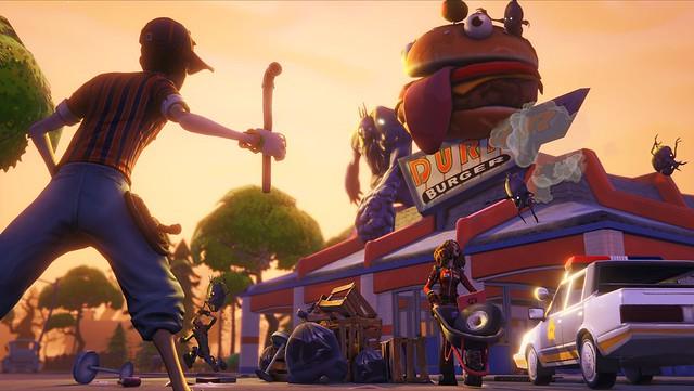 Fortnite, premier jeu Unreal Engine 4