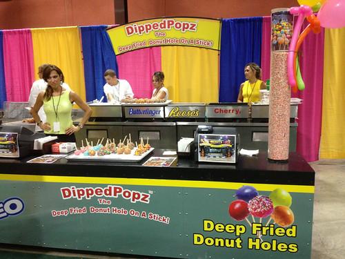 Dipped Popz Deep Fried Donut Holes