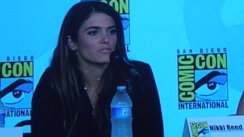 Nikki Reed on the Entertainment Weekly: Powerful Women in Pop Culture (aka Women Who Kick Ass!) Panel at Comic Con