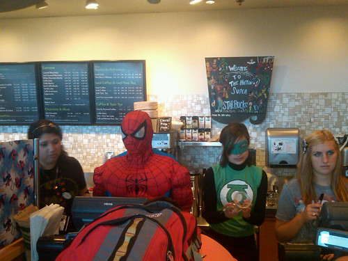 Comic-Con Starbucks