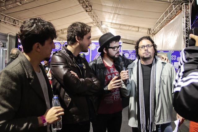 Volver cantou canções do disco Próxima Estação no Guadalajara.