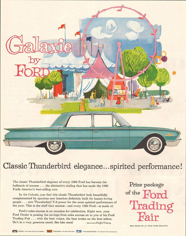 1960 Ford Galaxie ad