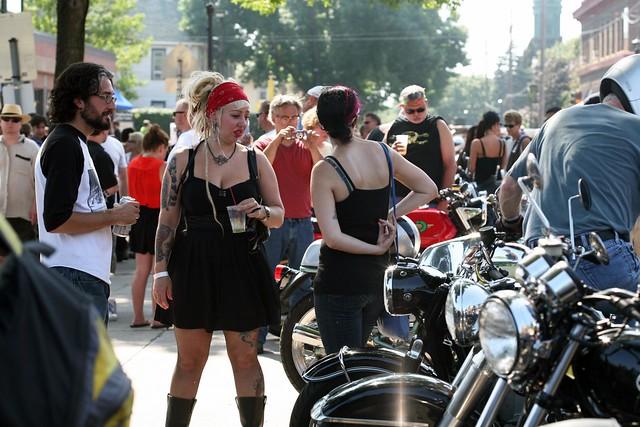 Bearded Lady Motorcycle Freakshow 2012