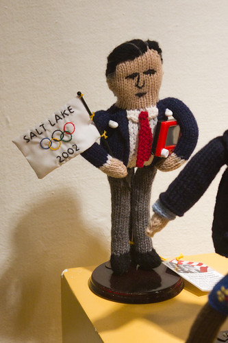 Knitted US President?