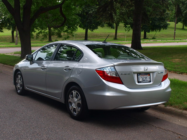 2012 Honda Civic Hybrid 5