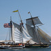 Pride of Baltimore II and Larinda