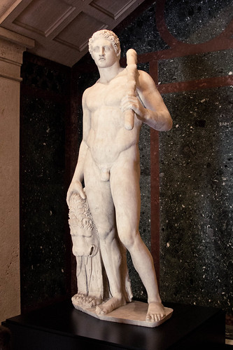 Greek hero Herakles