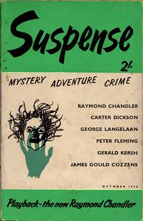 Suspense october 1958 volume 1 nr. 3