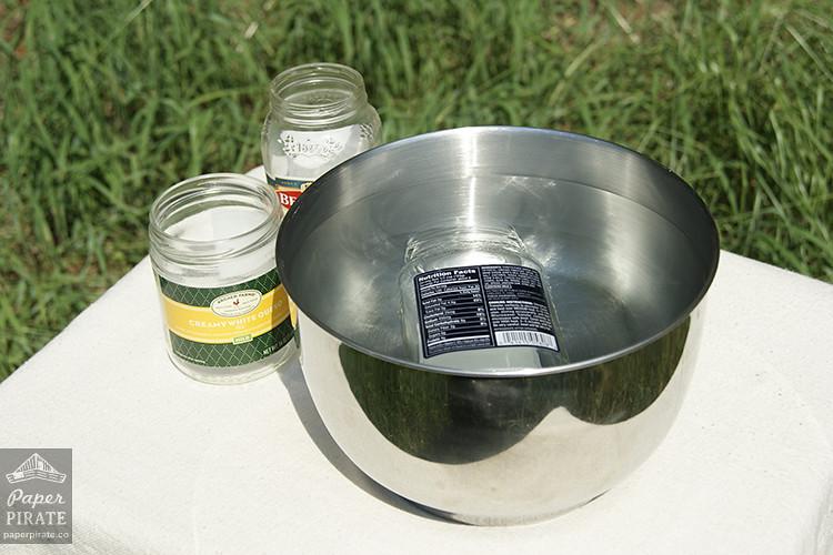 Herb Garden Jars - Step 2