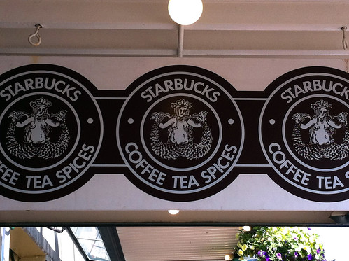 Pike Place Market - Starbucks Logo