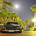 SLS by moonlight