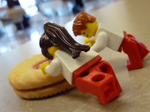 Bleed for Guelph - Chiropractic Lego by Dr. Mark Kubert