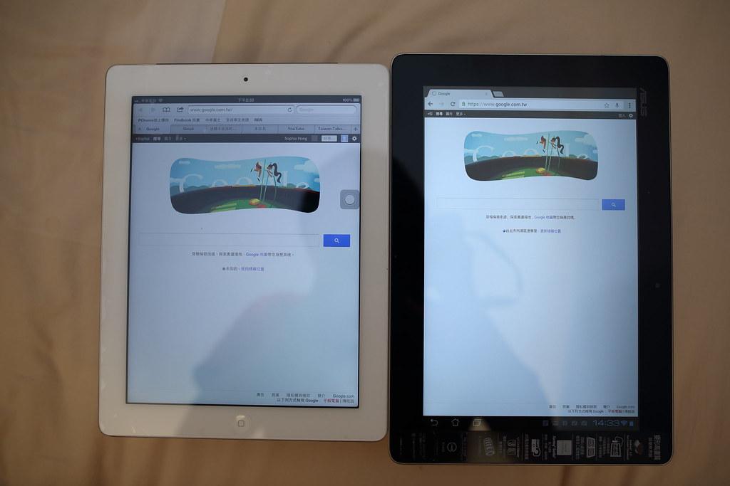 new ipad vs tf700t