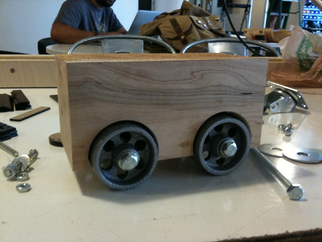 Nerdy Derby Car