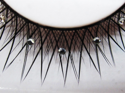 Abstract Diamond Eyelashes