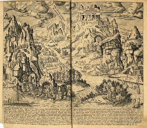 012-Primer grabado rectangular horizontal-Amphitheatrvm sapientiae aeternae…-1609- Heinrich Khunrath