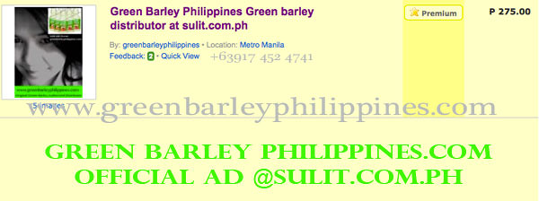 greenbarleyphilippines.com sulit.com.ph