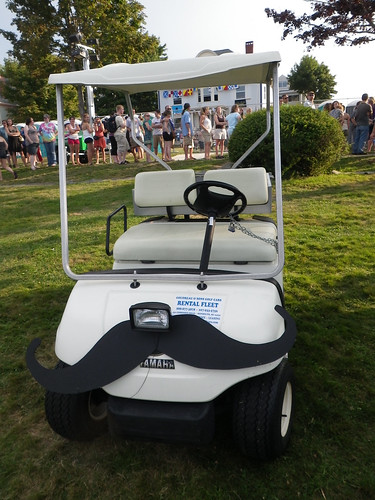 Mustachioed Cart