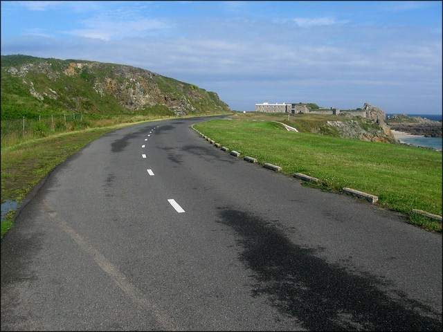 Road around Alderney