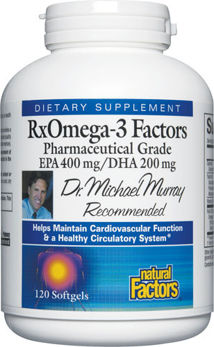 Natural Factors RxOmega-3 Factors