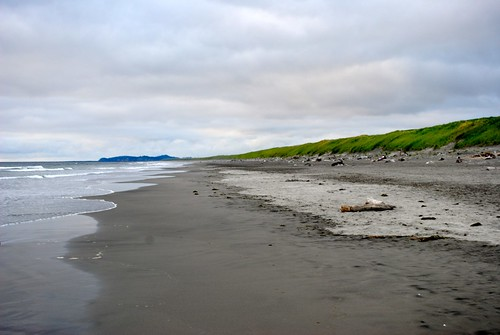 Sunset Beach at Fort Stevens State Park