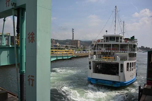 2012夏日大作戰 - 桜島 - 桜島フェリー (2)