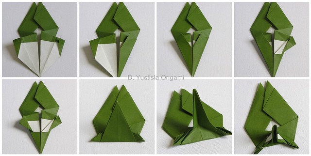 Totoro Origami Step 17-24