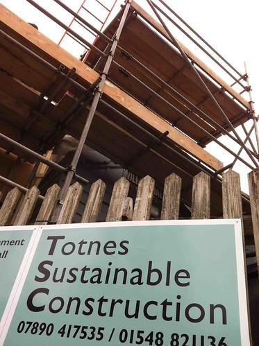 Totnes Sus Cons refurb Dn village hall 2012