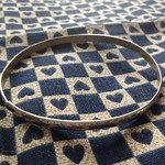 thin mexican silver bangle