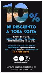10% de descuento a toda Costa con Capraboacasa.com ! ;)
