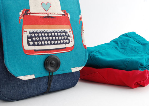 Melody Miller/Michelle Patterns Messenger Bag